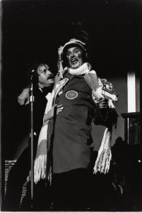 James Warrior and Dave Hill as Phil and Ged Murray