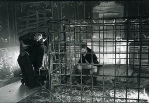 in rehearsal.  Elijah Moshinsky, director; Jack Shepherd, Danton